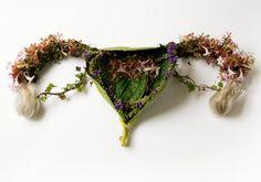 Órgãos Florais  -  Belíssimo o trabalho da fotógrafa Camila Carlow, que recriou os órgãos humanos com arranjos florais.