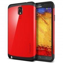Capa Galaxy Note 3 Spigen SGP Slim Armor - Dante Vermelho  R$70,92