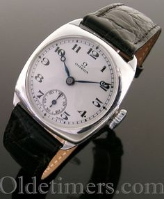 Watch mens packet silver vintage waltram