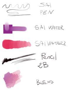 Change Color Of Ink In Clip Studio Paint Ex