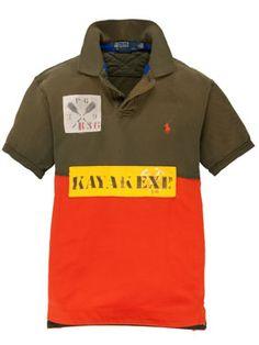 Polo Ralph Lauren - topaktuelles Poloshirt im Retro-Look in der gewohnt hohen Qualität.