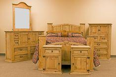 Mansion Rustic Bedroom Set