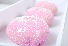 Baked Doughnuts, Bella will love this!