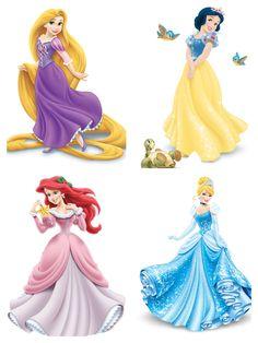Disney Princess Crafts, Disney Princess Birthday Party, Barbie Birthday Party, Castle Cartoon, Princess Cake Toppers, Prince Party, Disney Girls, Disney Drawings, Rapunzel