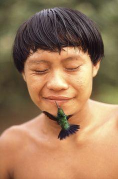 Yanomamis Indian, Roraima, Brazil.
