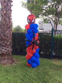 Pilar de Spiderman, por decoración eventos norma.