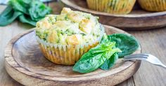 Spinach feta muffins | OverSixty