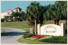 The beautiful Lakeridge Winery & Vineyards - Clermont, Florida
