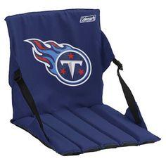Coleman Tennessee Titans Navy Blue Stadium Seat Cushion #Ultimate Tailgate #Fanatics
