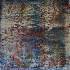 Abstract painting by Jakob Weissberg, 2014, oil on canvas, 150x150cm
