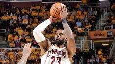LeBron James of Cleveland Cavaliers passes Kareem Abdul-Jabbar for postseason points