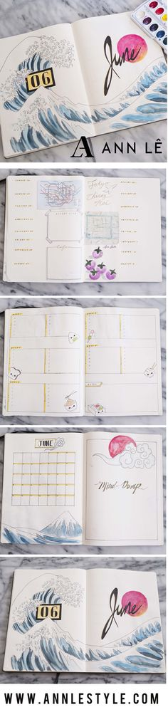 I don't know about you, but I have total bujo envy! Gorgeous bullet journal pages. Planner inspiration - PLAN WITH ME Wreck This Journal, My Journal, Journal Notebook, Journal Pages, Planner Bullet Journal, Bullet Journal Inspo, Bullet Journal Layout, Journal Inspiration, Tracker Mood
