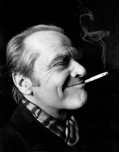 """What's beautiful is all that counts, pal. That's all that counts."" ~ Jack Nicholson Jack Nicholson Movie Star multicitymovies.com"