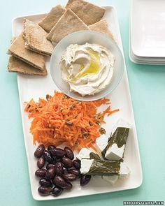 mediterranean food would be yummy