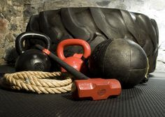 Sandbags  TRX or Olympic rings  Kettlebells  Bands  Chains  Sled  Tractor tire  Med balls  Thick ropes..