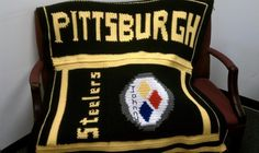 STEELERS!! Need to find a pattern, so I can make this for Ron!