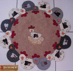 Chicken table topper