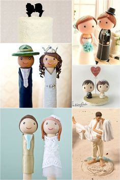 Unique Doll Cake Toppers for Weddings
