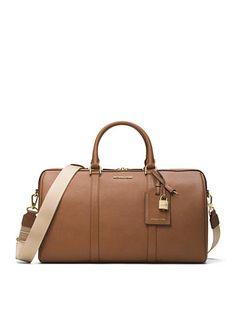 MICHAEL Michael Kors Jet Set Travel Large Leather Weekender