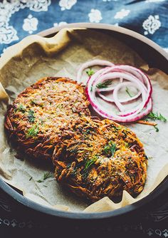 carrotdillfritter by six course dinner, via Flickr