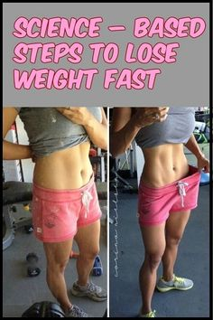 Science – based steps to lose weight fast