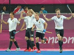 London 2012 GOLD - 4th time a gold medal for Germany's hockey team    (c) Bild.de