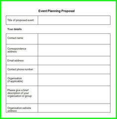Example Of Event Management Plan  Blue Rose Event Management