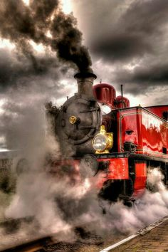 Steam engine..