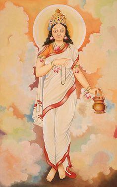 Nava Durga Stuti (Mantra) for Kundalini Durga Images, Lakshmi Images, Mother Goddess, Goddess Lakshmi, Navratri Puja, Navratri Wishes, Tribal Pattern Art, Durga Ji, Spiritual Warrior