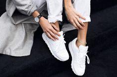 @mexiquer #UOonYou   Reebok Classic Premium White Trainers
