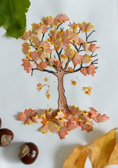 Craft ideas for autumn in kindergarten - 11 creative instructions, # instructions . - Craft ideas for autumn in kindergarten – 11 creative instructions, # instructions -