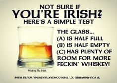"Not sure if you're Irish?  ""C"" !!"