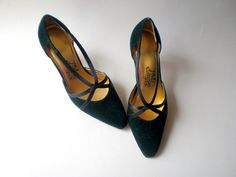 Vintage 20s Style Pumps Shoes Heels / Gatsby by BellaViveVintage, $29.00