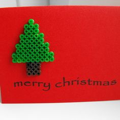 hama beads designs | Hama Beads Christmas Tree - Folksy