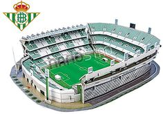 Real Betis Benito Villamarin Stadium 3D jigsaw puzzle kog 1