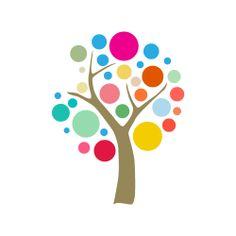 Colorful Tree Design