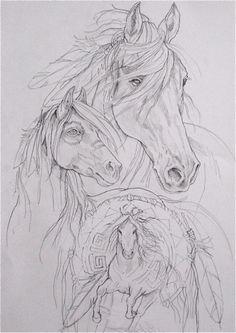 Shaman Horse...Or, Wind spirit. Which title?