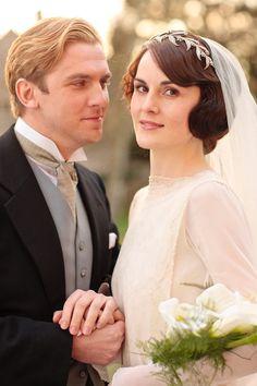 Una boda victoriana inspirada en Downton Abbey: fotograma de otra boda