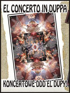 """L-Dópa - El Concerto in duppa [DVD]  Zespół El Dupa postanowił wyjść naprzeciw oczekiwaniom rzeszy swoich fanów i wydać DVD. """"EL CONCERTO IN DUPPA"""" jest zapisem zeszłorocznego koncertu, który odbył się 1.10. 2010 w warszawskich Hybrydach i podczas którego EL Dupa pokazała swoje prawdziwe oblicze.    Zapraszamy do zamawiania tego wydawnictwa tutaj: http://www.sprecords.pl/muzyka/l-dopa/l-dopa-el-concerto-in-duppa-dvd_p_59.html    Cena: 36,99 PLN"""