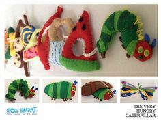 The Very Hungry Caterpillar Felted Play Set