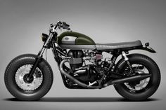 Triumph Bonneville Custom by Ton-Up Garage