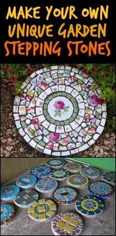 Create Unique Stepping Stones to Match Your Personality, Home, or Garden
