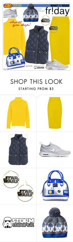 """""""What to Wear: Black Friday Shop Til You Drop!"""" by mcheffer ❤ liked on Polyvore featuring J.Crew, NIKE, Loungefly, Disney, Anja and shoptilyoudrop"""