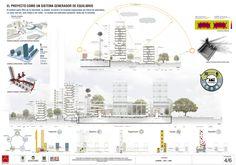 Resultados Concurso Vivienda de Interés Prioritario en la Plaza de la Hoja,Courtesy of Tercer Lugar