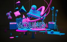 Sound by Jeison Barba, via Behance