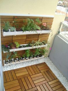 Awesome 128 Garden On Small Balcony Awesome 128 Garden On Small Balcony Garden Garden apartment Garden ideas Garden small Small Balcony Decor, Small Balcony Garden, Outdoor Balcony, Terrace Garden, Outdoor Decor, Balcony Plants, Balcony Tiles, Small Terrace, Small Balconies