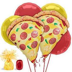 Shop for Pizza Party Balloon Kit (Each) and other party supplies. The most popular party Supplies and Decorations, all available at wholesale prices! Pizza Party Birthday, 10th Birthday Parties, 50th Party, Birthday Party Decorations, Birthday Ideas, 2nd Birthday, Balloon Decorations, Kids Pizza Party, Garfield Birthday
