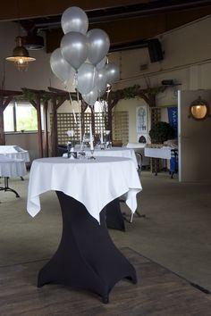 1000 images about ballonnen bruiloft on pinterest for Ballonnen tafels