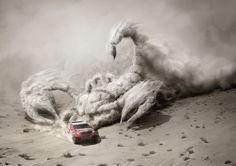 Toyota Dakar 2015 by Mecanique Generale 3D imaging