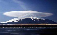 Lenticular Cloud - Mt. Fuji, Japan